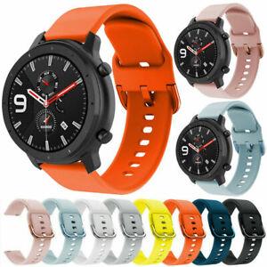 Silikon Sport Armband Für Huami Amazfit 3 GTR 47/42MM/GTS/Bip S Youth/Stratos 3