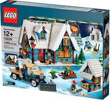 LEGO - WINTER VILLAGE COTTAGE SET 10229 - HOLIDAY/CHRISTMAS/SNOW/SANTA SCENE NIB