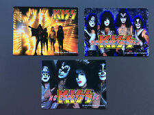 KISS 3-Pack of Stickers Gene Simmons / Paul Stanley NEW OFFICIAL MERCH RRP$16.05