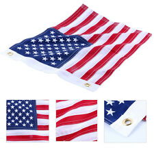 "12""x18"" Yacht Marine Boat Ensign Nautical USA US American Flag Sewn/Embroidered"