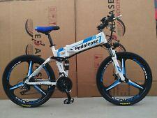 PedalEase folding electric bike 48V 500W - hidden battery - White colour