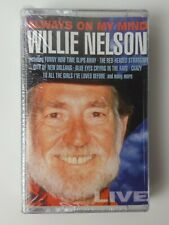 Willie Nelson Live Always On My Mind - Vintage Country Music Cassette Tape 1997