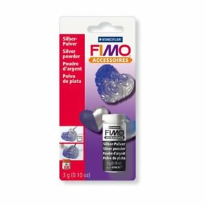 Staedtler Fimo Metallic Craft Powder Silver