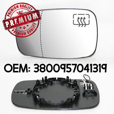 Passenger UK Left Side Mirror Wing Heated Glass For Renault Clio mk3 05-09