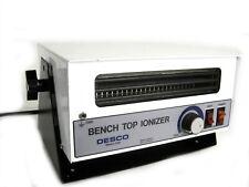 Desco 19500 Bench Top Cleanroom Ionizer Blower w/ Heat 120v Adjustable Volume