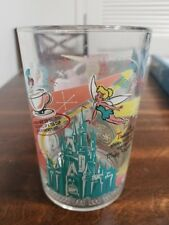 Disney 100 Years of Magic Mcdonalds Glass Cup Magic Kingdom Castle