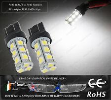 LED SMD W21/5W White DRL Daytime Running Lights For Skoda Citigo Seat Mii VW UP!