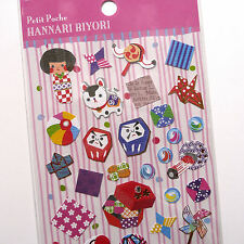 38x Cute Japanese Character Icons Illustration Style Stickers. Mind Wave Inc.