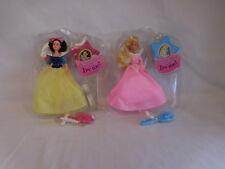 Disney Musical Princess Collection Dolls Aurora + Snow White Mattel 1994
