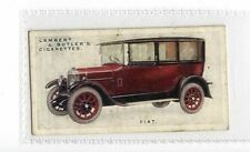 (Jy899-100) Lambert & Butler,Motor Cars 3rd,Fiat,1926 #20