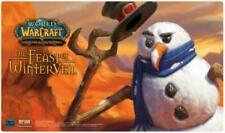 Warcraft Feast of Winterveil SNOWMAN Wow Mouse Pad Hearthstone TCG Christmas