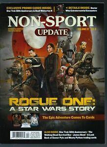 New Non-Sport Update (Dec/Jan 2017, Volume 27 No.6, Rogue One A Star Wars Story)