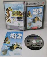 ICE AGE 2 THE MELTDOWN PLATINUM SONY PLAYSTATION 2 PS2 PAL Fast Free P&P