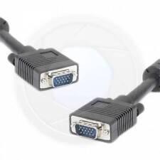 Computer HDTV Cable VGA to VGA SVGA 15pin HDB15P-M Monitor Display (15FT) 5Meter