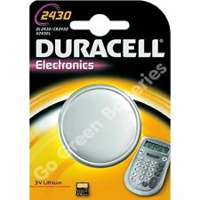 Duracell CR2430 Single Use Batteries