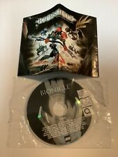 Lego Bionicle Mini Disk QuickTime Movie And Mini Comic Ad Paper