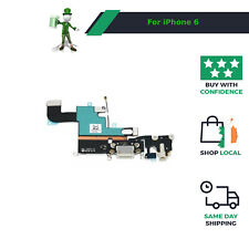 White Charging Dock Port Headphone Replacement Cable Flex for iPhone 6   #123647