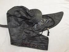Vtg NOS 1953 US Navy Foul Weather Rubberized Deck Hood Korean War Rubber Hat Cap