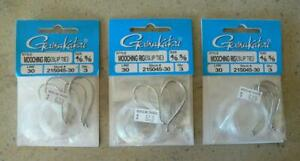 Gamakatsu Slip Tie Mooching Rig - 4/0 - 5/0 on 30lb test - Stock 215045-30 - NEW