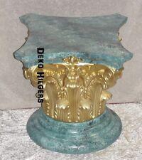 Säule Stuckgips Dekosäule Podest Tisch Wohnen Möbel Säulen 1027 Optik Marmor 130