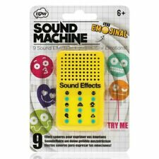 NPW Emoticon Sound Effect Toy Machine - Yellow by Get Emojinal