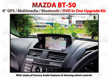"""Mazda BT-50 Ute XT XTL - 8"""" GPS Navigation DVD Blutooth All-in One Upgrade Kit"""