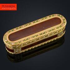 ANTIQUE 18thC FRENCH 18k GOLD & ENAMEL SNUFF BOX, JOSEPH-ETIENNE BLERZY c.1770