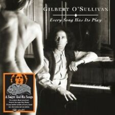 GILBERT O'SULLIVAN - EVERY SONG HAS ITS PLAY (REMASTER)  CD NEW!