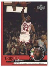Michael Jordan 1999 Upper Deck Tribute Bulls rival Charlotte Basketball Card
