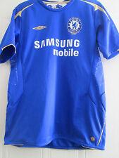 Chelsea 2005-2006 Home Football Shirt Talla Xl Boys Jersey / 39776