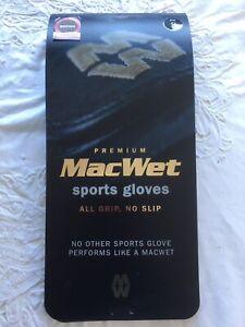 Mac Wet Sport Gloves  Brown Size 8