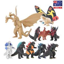Godzilla Mechagodzilla Gigan Anguirus 10 PCS Action Figure Doll Toys Kids Gifts