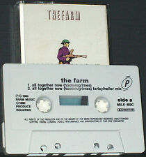 Farm All Together Now CASSETTE SINGLE PRODUCE RECORDS Trance Euro House Synthpop