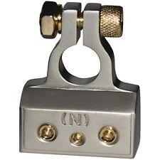 DB LINK BTN1 Negative Platinum/gold plated Battery Terminal, 4/8/10-gauge input