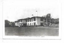 Simcoe County ALLISTON, ONTARIO  Stevenson Memorial Hospital - Circa 1908