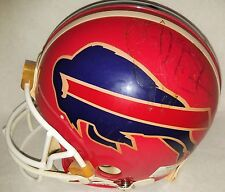Jim Kelly Signed Full Size Authentic Riddell VSR-3 Bills Helmet JSA COA #S39313