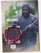 Walking Dead Season 5 Wardrobe Card Relic Tyreese Williams Shirt (C)