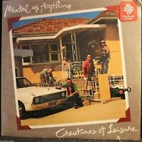 Mental As Anything Creatures Of Leisure Vinyl LP Record Album -- SEALED!!