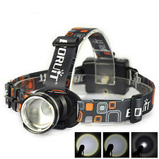 Zoomable 20000LM XM-L T6 LED Headlight 3 x AA Flashlight Head Lamp Light Torch