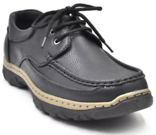 Tanggo Abida Formal Shoes Lace Up Leather Black Shoes for Men SIZE 39