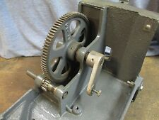Belsaw Hand Saw Filer Model 1200 - Part # L-355 & L-354 Gear Assembly / Fa 190