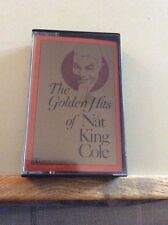 THE GOLDEN HITS OF NAT KING COLE - MUSIC CASSETTE