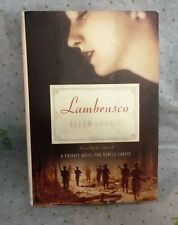 Lambrusco by Ellen Cooney (2008, Hardcover) First Edition