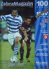Programm 2002/03 MSV Duisburg - LR Ahlen