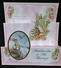 Invitaciones de ,A Mi Bautizo (Spanish Baptism  Christening invitations),Favors