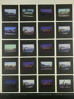 Lot of 20 Louisville & Nashville Railroad Slides L&N 1970's-80's