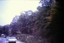 #10 35mm slide - Vintage - Collectibles - Photo - cars road trees house