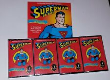 SMITHSONIAN HISTORICAL PERFORMANCES SUPERMAN ON RADIO - CASSETTES - With Book