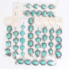Wholesale Lot 10pcs Bracelets Turquoise Tibetan Gemstone Silver Tribal Bohemian