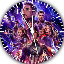 "The Avengers Endgame Wall Clock 10"" will be nice Gift and Room wall Decor G12"